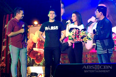 PHOTOS: Bea and Enchong at Araw ng Dabaw