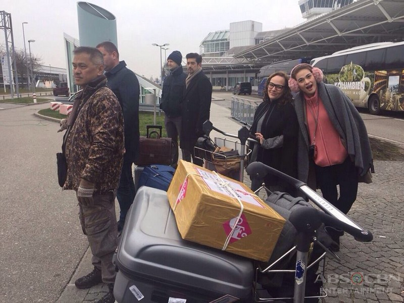Bea and Ian in Germany