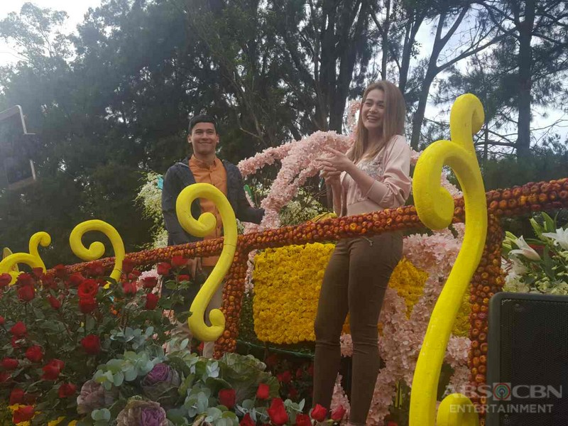 PHOTOS: Bea and Enchong at the Panagbenga Festival