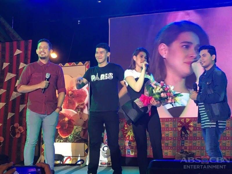 PHOTOS: Bea and Enchong at Araw ng Dabaw