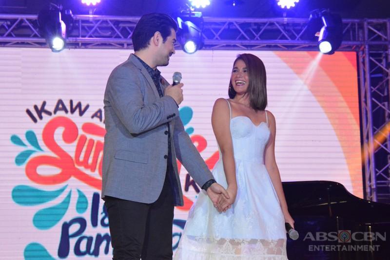 PHOTOS: A Love To Last's Team TonDeng at Ikaw Ang Sunshine Ko, Isang Pamilya Tayo: The ABS-CBN Trade Event