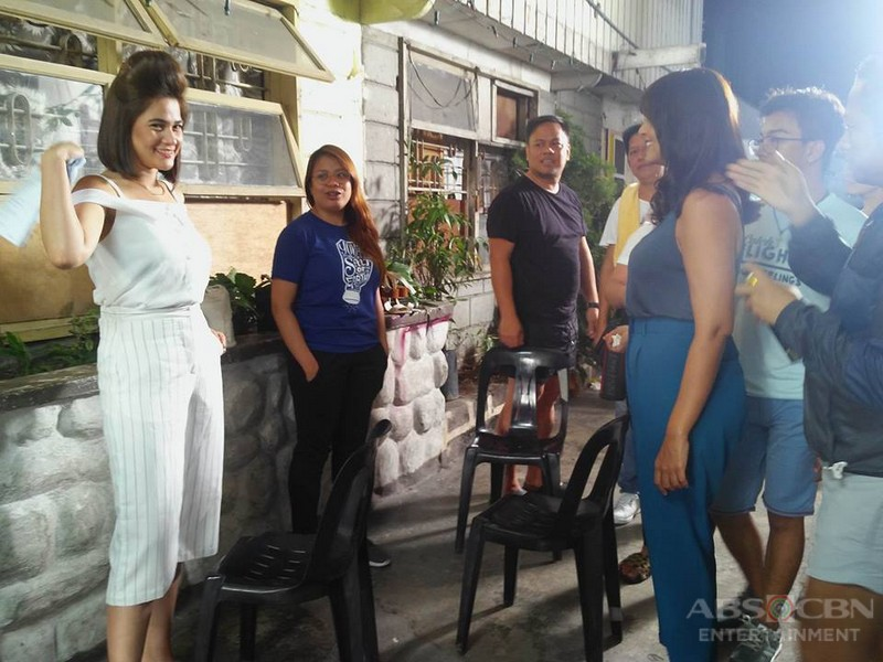 #ALTLSagad BEHIND-THE-SCENES: Andeng and Grace Face Off
