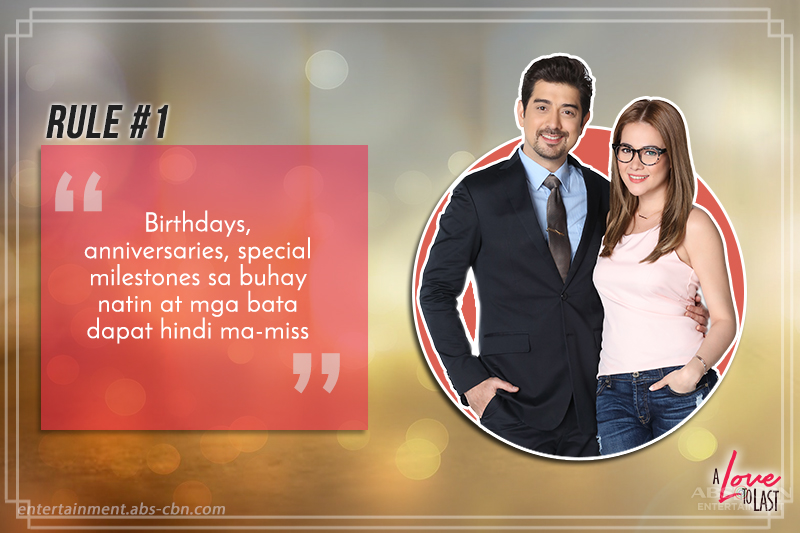 Anton and Andeng set rules for A Love To Last