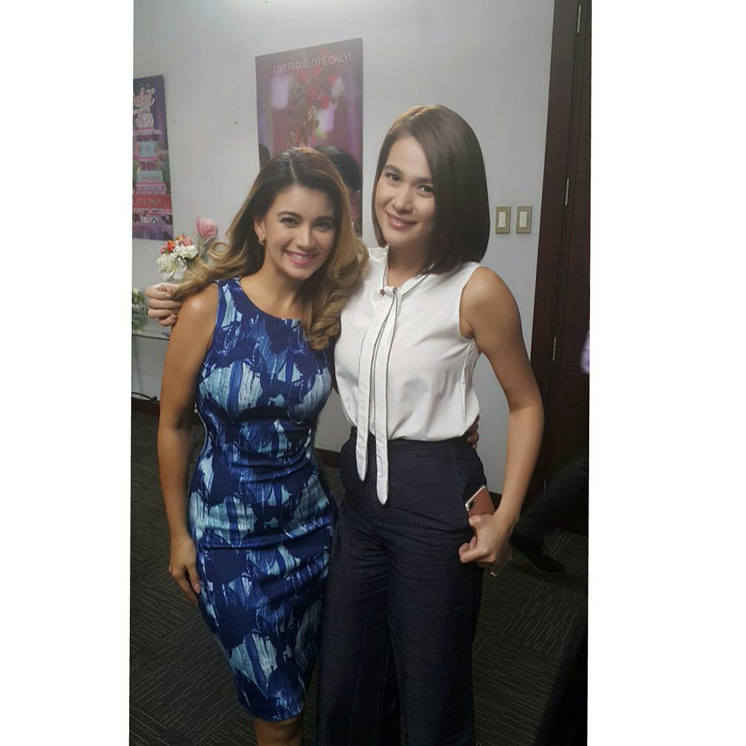 Behind-the-scenes: Isabel Granada as Cris in A Love To Last