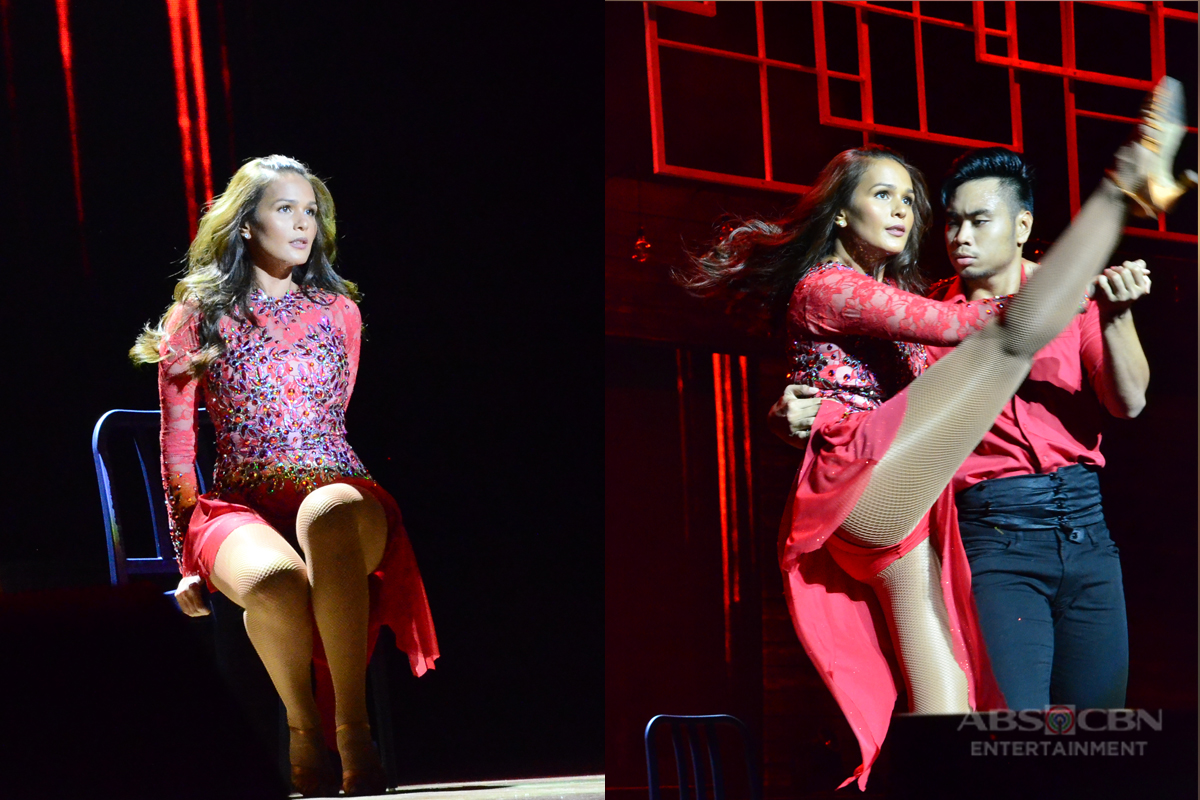 Iza Calzado show off her dance moves on #LoveGoals: A Love To Last Concert Image Thumbnail