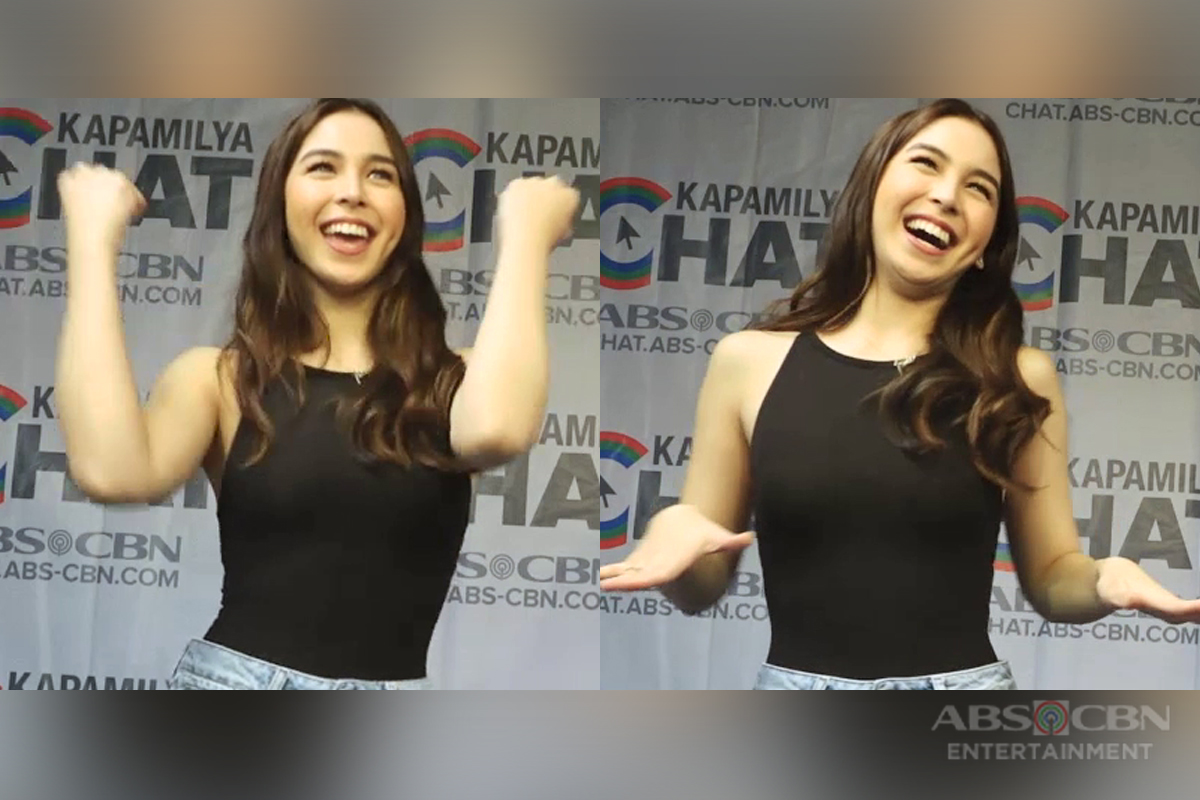 Guilty Or Nor Guilty? Julia Barretto reveals more about herself in this Kapamilya Chat Challenge!